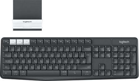 Клавиатура беспроводная Logitech K375s Multi-Device (920-008184) USB + Bluetooth черный белый
