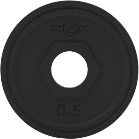 RZR Блин стальной обрезиненный 0,5 кг -R05