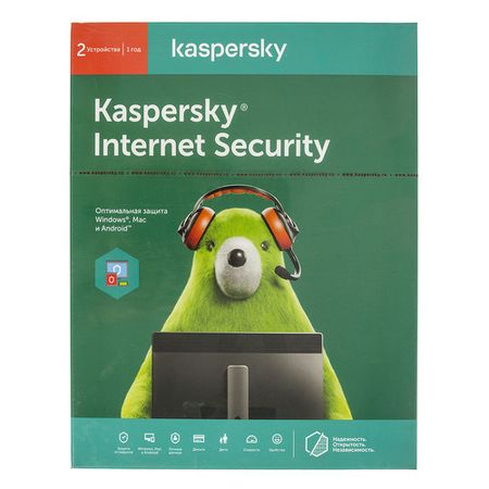 ПО Kaspersky Internet Security Multi-Device Russian Ed 2 устройства 1 год Base Box (KL1941RBBFS)