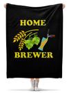 Printio Плед флисовый 130170 см Домашний пивовар