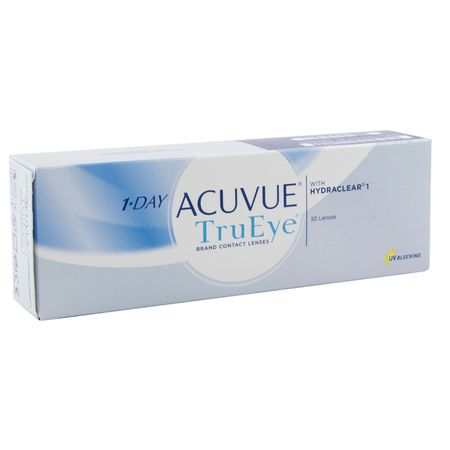 Контактные линзы Johnson & Johnson 1-Day Acuvue TruEye (30 линз / 8.5 / -2)