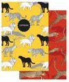 Тетрадь-перевертыш 80л. А4 Феникс+ Дикие кошки вн. блок офсет, клетка, обл. мелов.картон, сплошной УФ-лак 47377