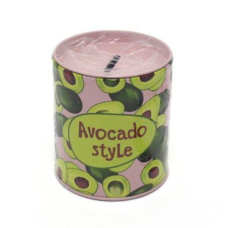 Копилка Бочка Avocado style (10х9) (металл)