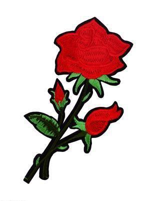 Термонаклейки роза 11*9, орр