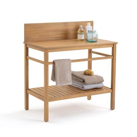 Мебель La Redoute Для ванной MERCURE из акации единый размер бежевый