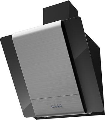 Вытяжка Krona Steel TALLI 600 inox/black glass 3P