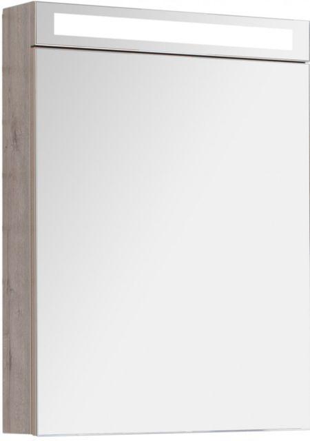 Зеркальный шкаф 60х80 см дуб кантри Dreja.rus Max 77.9006D