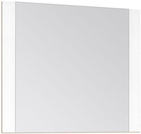 Зеркало 80х70 см ориноко/белый лакобель Style Line Монако LC-00000629