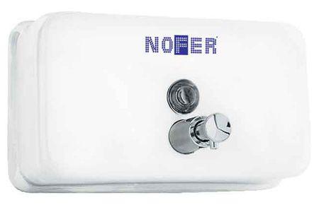 Диспенсер для мыла 1200 мл белый Nofer Inox 03002.W