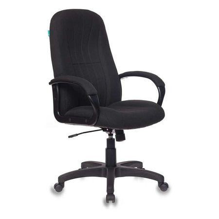 Кресло руководителя БЮРОКРАТ CH 685, на колесиках, ткань, черный [ch 685 bl]