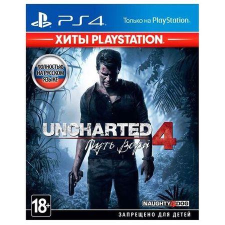 Игра для PlayStation 4 Uncharted 4: Путь вора (Хиты PlayStation)