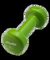 Гантель виниловая DB-101 2 кг Starfit (2 кг, зеленый)