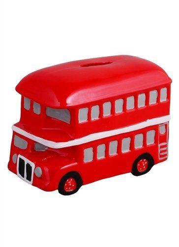 Копилка Лондонский автобус (керамика) (14,5х10) (12-07365-6202-2)