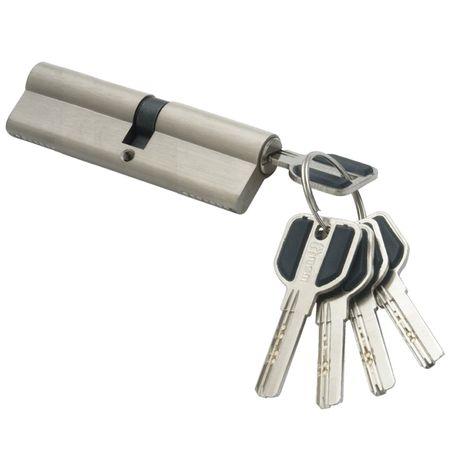 цилиндр ключевой MSM 110мм 55+55 матовый никель