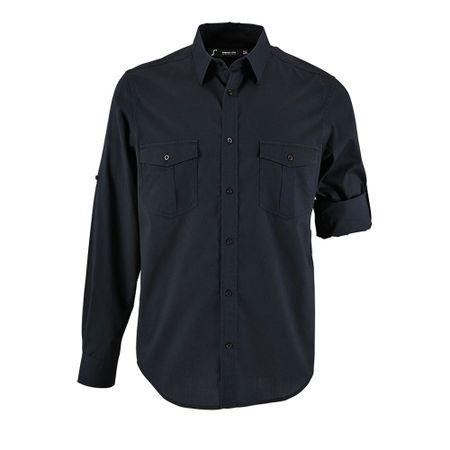 Рубашка мужская BURMA MEN темно-синяя, размер XXL