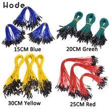 QITA Jumper Wires Pre-crimped Terminals Rainbow Assortment Female-Female 40cm