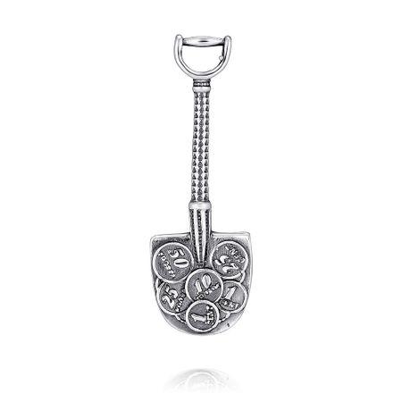 Сувенир из белого серебра 925 пробы