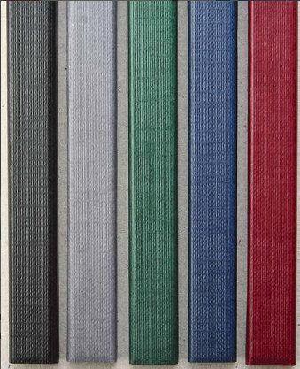 Цветные каналы с покрытием «ткань» O.CHANNEL А4 304 мм 16 мм, зеленые