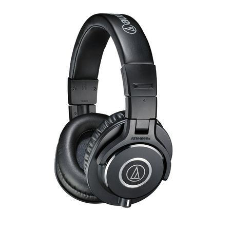 Охватывающие наушники Audio-Technica ATH-M40X Black