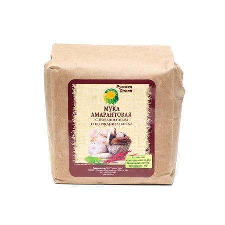 Мука амарантовая с повышенным содержанием белка Русская Олива (1 кг)