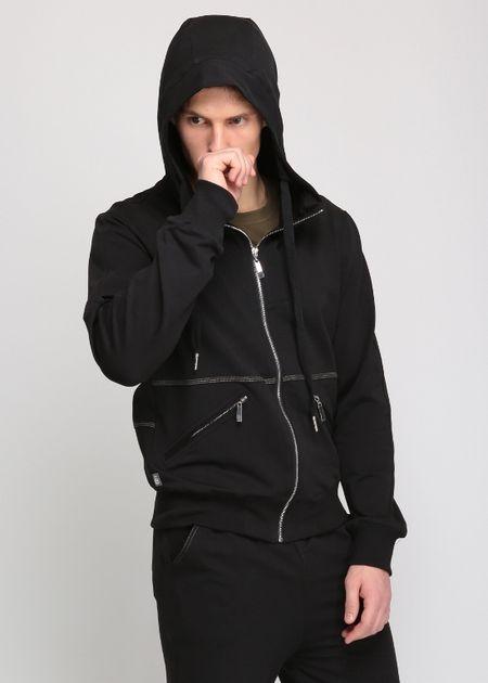 Толстовка с капюшоном black, fresh collection, organic panda (L (50))