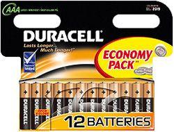Батарейка Duracell LR 03-12 BL BASIC (12/144/34272)